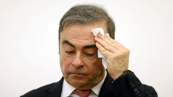 FILE PHOTO: Former Nissan chairman Carlos Ghosn attends a news conference at the Lebanese Press Syndicate in Beirut, Lebanon January 8, 2020. REUTERS/Mohamed Azakir (REUTERS)