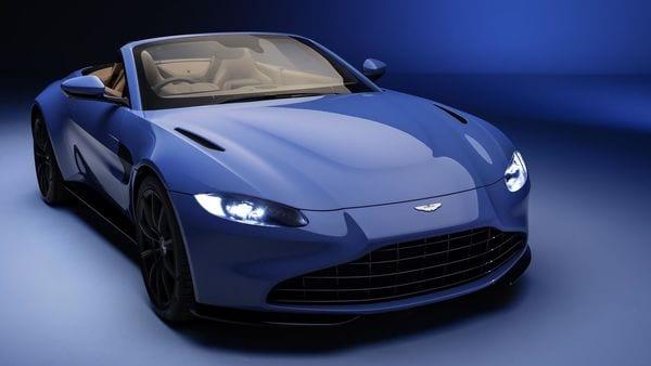 Photo of the new 2021 Aston Martin Vantage