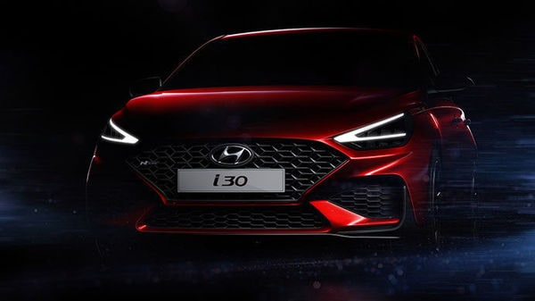 Photo of the new i30 shared by Hyundai Motor.