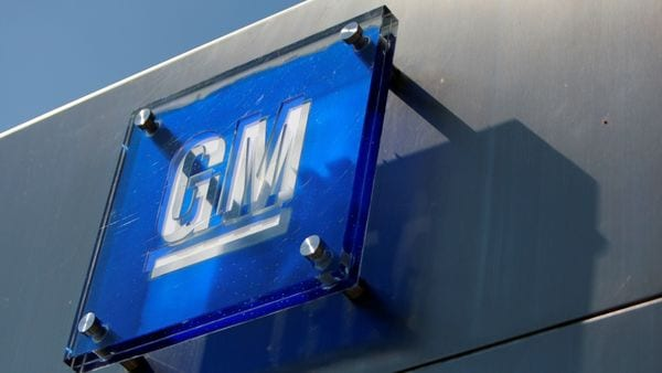 FILE PHOTO: The General Motors logo is seen outside its headquarters at the Renaissance Center in Detroit, Michigan in this file photograph taken August 25, 2009. REUTERS/Jeff Kowalsky/File Photo (REUTERS)