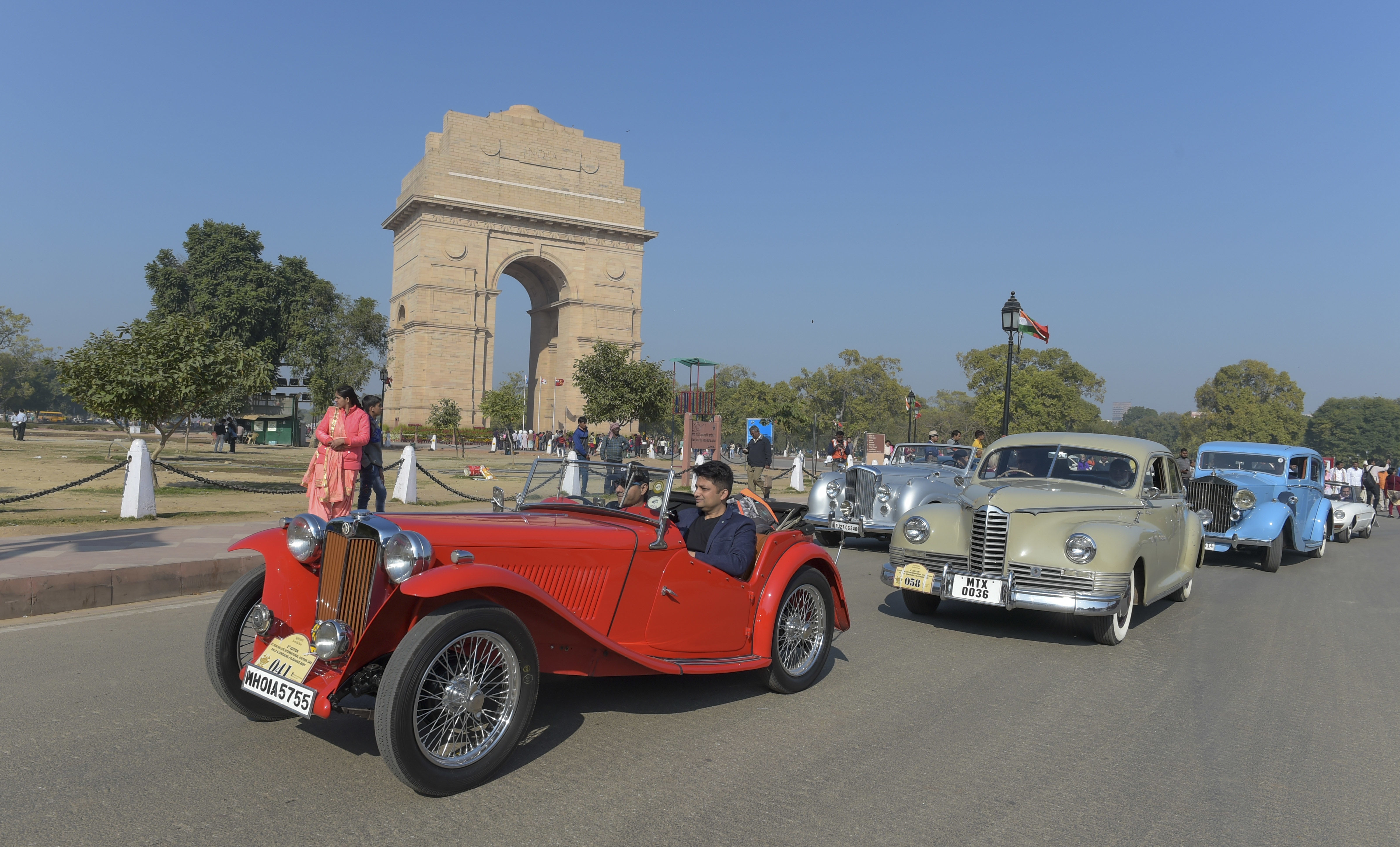The Incredible India Rally will visit 17 cities covering 4,000 km and would mark the beginning of a new era for patrons of heritage motoring. (PTI)