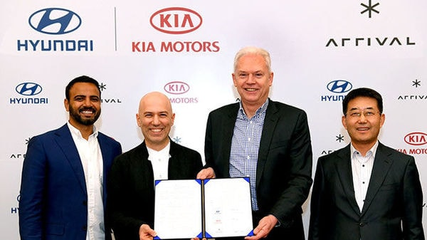 Hyundai Motor Company and Kia Motors Corporation today announced a strategic investment of US $110 million in a new partnership with Arrival, a UK-based electric vehicle startup.