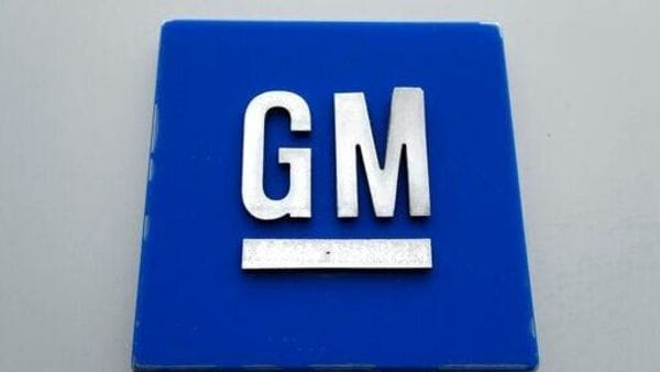 FILE - This Jan. 27, 2020, file photo shows a General Motors logo at the General Motors Detroit-Hamtramck Assembly plant in Hamtramck, Mich. GM is pulling out of Australia, New Zealand and Thailand as part of a strategy to exit markets that don't produce adequate returns on investments, the company said in a statement Sunday, Feb. 17. (AP Photo/Paul Sancya, File) (AP)