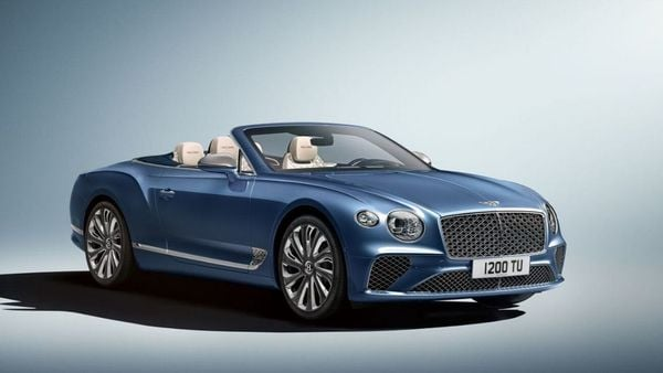 Photo of the new Continental GT Mulliner Convertible