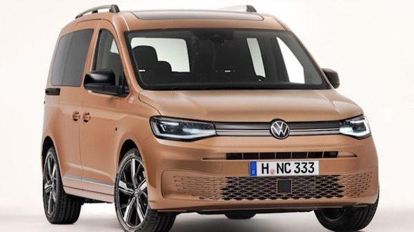 Photo of the new Volkswagen Caddy van