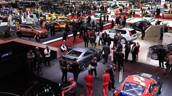 File photo of Geneva Motor Show