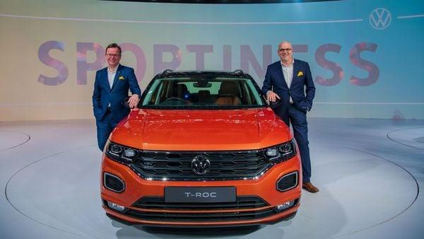Volkswagen T-Roc unveiled ahead of Auto Expo 2020