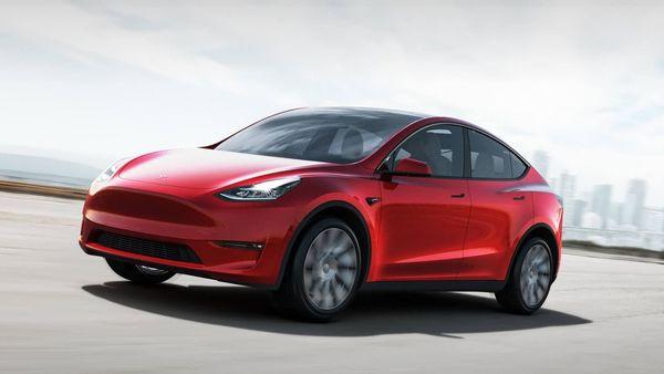 Photo of Tesla Model Y crossover. (Photo courtesy: tesla.com)