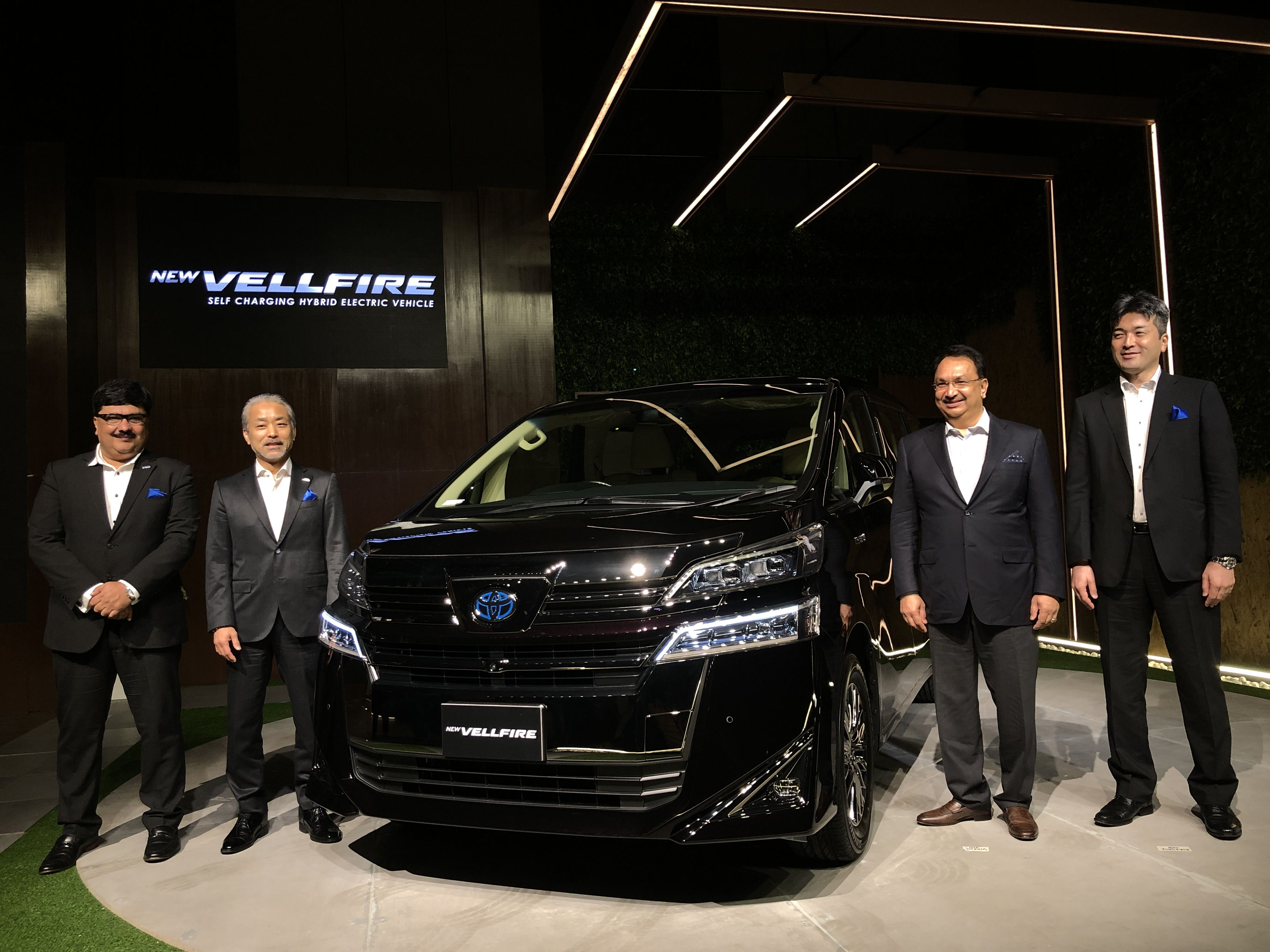 Toyota on Wednesday (February 26) officially launched the eagerly-awaited luxury MPV Vellfire in India at  <span class='webrupee'>₹</span>79.5 lakhs. The company said that the first three shipments of the vehicle have already been sold out.