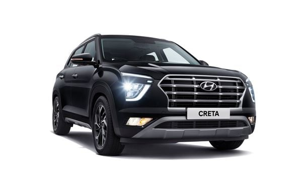 The front profile of new Creta from Hyundai.