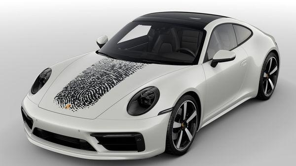 A customized 911 from Porsche.