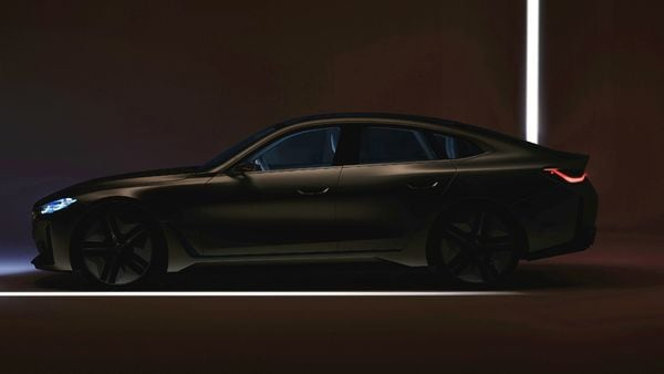 Rendered profile image of the new BMW Concept i4