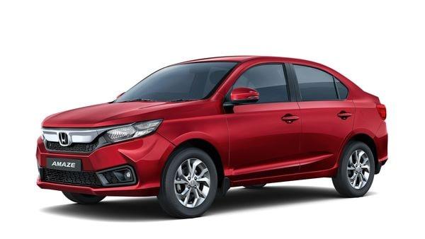 Photo of BS 6 complaint Honda Amaze compact sedan. (Photo courtesy: Honda Cars India)