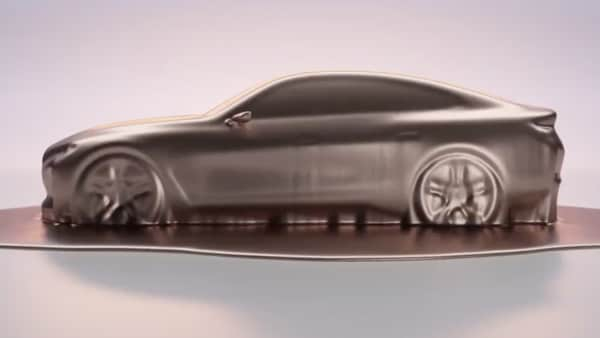 Screengrab from BMW i4 concept teaser