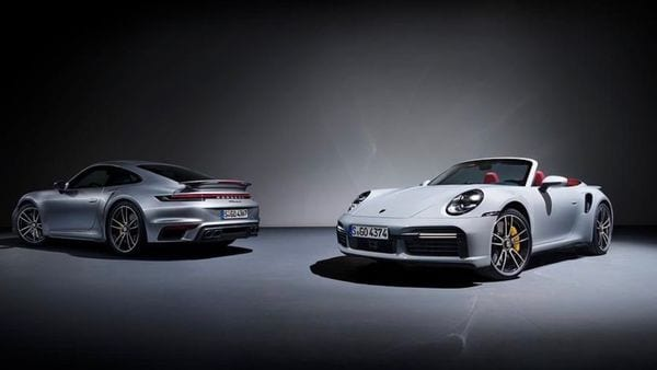 The Porsche 911 Turbo S is offered in both coupe and convertible versions.