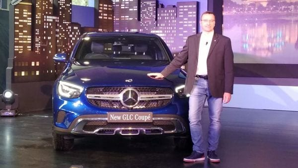 The new GLC Coupe from Mercedes-Benz.