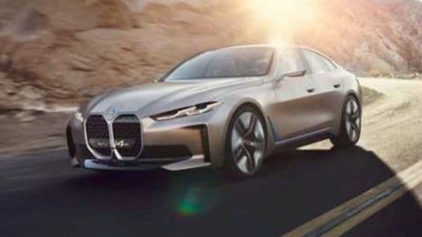 BMW Concept i4 images leaked before official unveiling