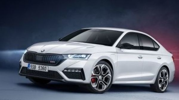 Skoda today unveiled its all-new fourth generation Octavia in a sporty RS version, also boasting of a hybrid powertrain.