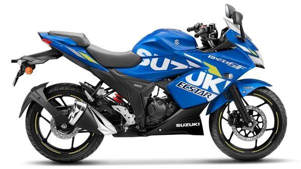 Suzuki Gixxer SF BS 6 in MotoGP Edition.