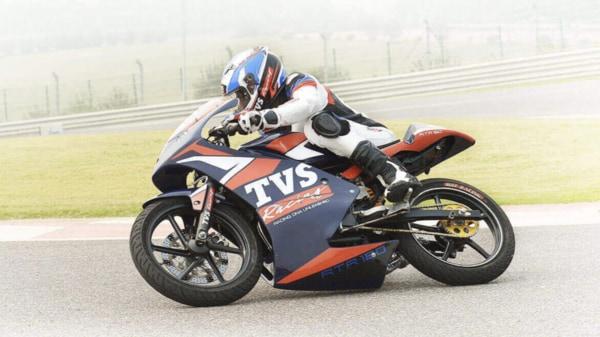 Photo courtesy: TVS Racing