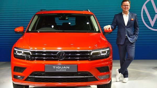 Volkswagen has launched BS 6-compliant Tiguan AllSpace 7-seater SUV with a tweaked grille compared to the regular Tiguan.