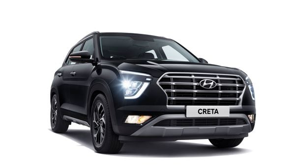 The front profile of new Creta from Hyundai.