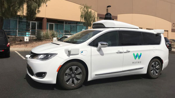FILE PHOTO: A Waymo self-driving vehicle is parked outside the Alphabet company's offices where its been testing autonomous vehicles in Chandler, Arizona, (REUTERS)