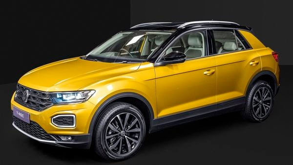 VW T-Roc pictured