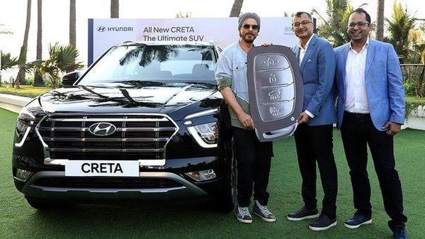 Shah Rukh Khan Becomes The First Owner Of 2020 Hyundai Creta In India