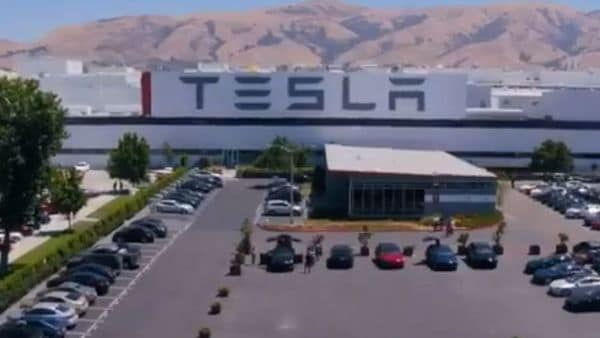 Courtesy: Grab from video posted on Twitter by @Tesla