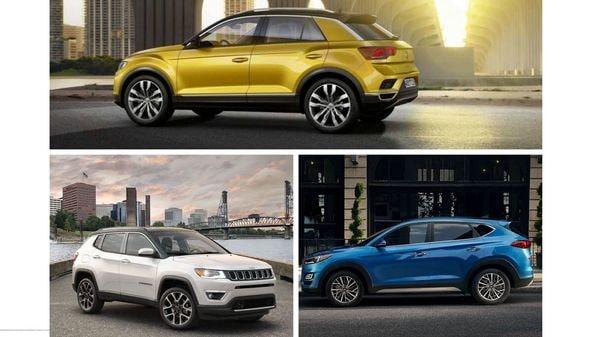 VW T-Roc vs Jeep Compass vs Hyundai Tucson