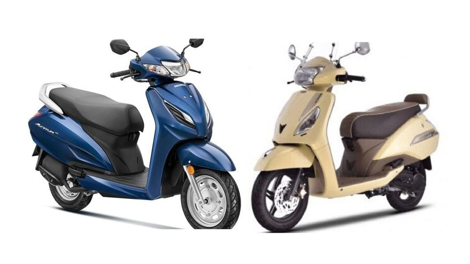 Honda Activa 6g Vs Tvs Jupiter Bs6 Price Features Specifications Compared