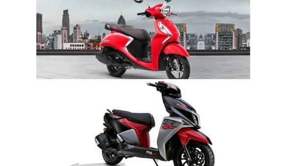 Yamaha Fascino vs TVS NTorq