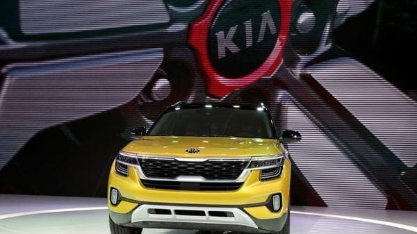 File Photo: A Kia Seltos car is displayed at the LA Auto Show in Los Angeles, California, US. (REUTERS)