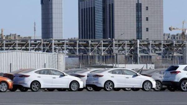 File photo: Hyundai cars are seen at a plant of Hyundai Motor. (REUTERS)