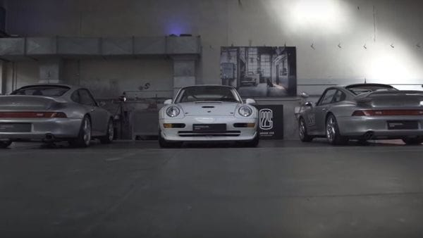 Photo grab from video posted on Youtube by Porsche.
