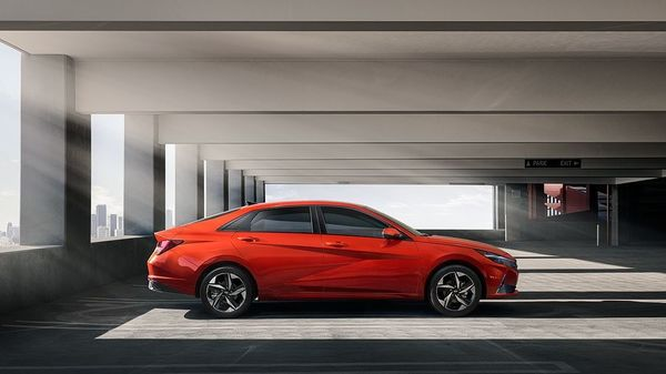 Hyundai Motor has revealed fresh images of the all-new 2021 Elantra, days after its launch. The sedan appears more stunning than the earlier images, precisely due to the bright orange colour it wears.