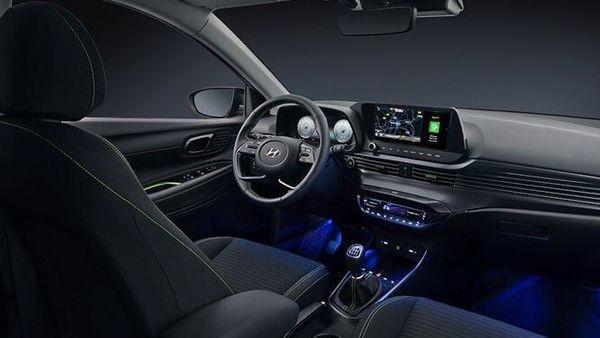 Interior of the new Hyundai i20