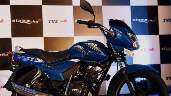 File photo of TVS-Star-City-Plus. (PTI)