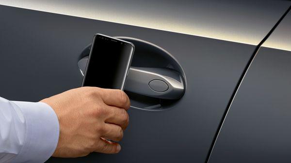 Photo of a BMW Digital Key