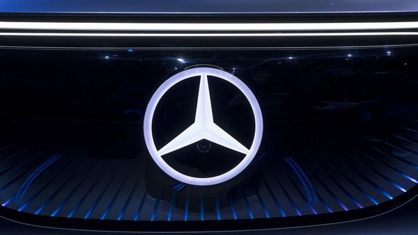 Image of Mercedes-Benz logo used for representational purpose. (Bloomberg)