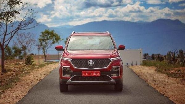 File photo of Hector SUV from MG Motor.