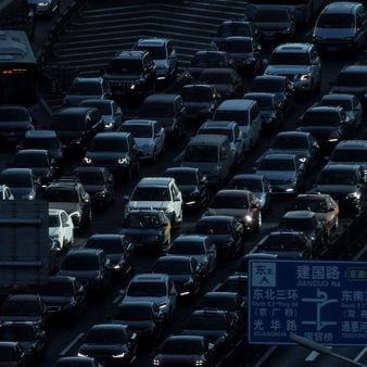 File photo: Auto sales in China have plunged, deepening a painful downturn in the industry's biggest global market and adding to economic pressure as the country fights a virus outbreak. (AP)