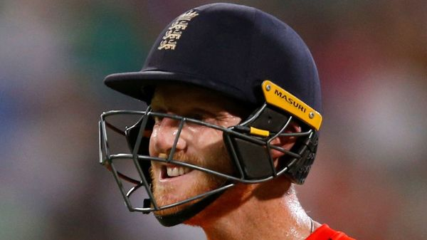 Time to exchange helmets: File photo of Ben Stokes. (REUTERS)