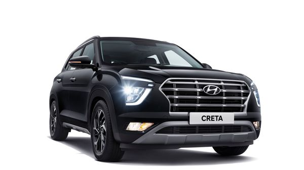 The front profile of alll-new Creta from Hyundai.