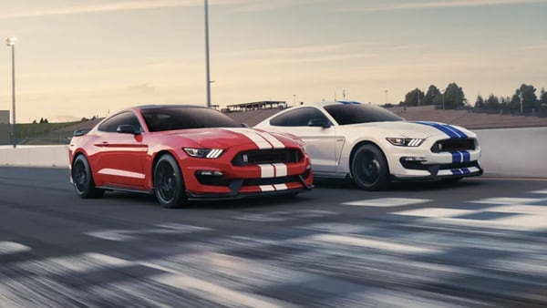 File photo of Ford Mustang Shelby GT350