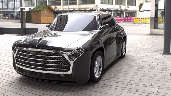 Ambassador First Made In India Car Gets An Ev Makeover In This Concept Design
