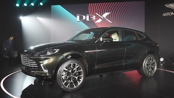 Aston Martin unveiled the first SUV, the DBX, in its 107-year-old history. The 542-horsepower DBX's media drives were planned for May but now have been postponed. Production at all the company's manufacturing sites remain halted. (AFP)