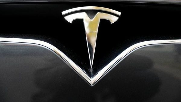 The company logo is pictured on a Tesla Model X electric car in Berlin, Germany, November 13, 2019. REUTERS/Fabrizio Bensch/Files (REUTERS)