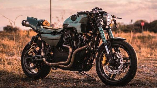 King of kings 2020 winner 'Apex Predator', a custom Harley-Davidson XR1200, Image Courtesy: Custom.Harley-Davidson